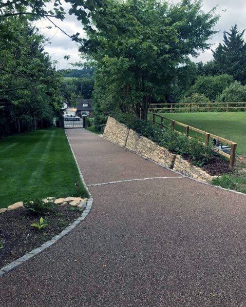 Top 60 Best Gravel Driveway Ideas Curb Appeal Designs Gravel Driveway Gravel Driveway Edging Gravel Landscaping