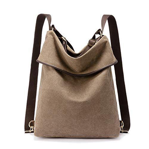 Canvas Tasche Rucksack Damen Update Version Handtasche Damen Herren Schultertasche Gross Umhangetasche Damen Ant In 2020 Rucksack Damen Taschen Damen Handtasche Vintage