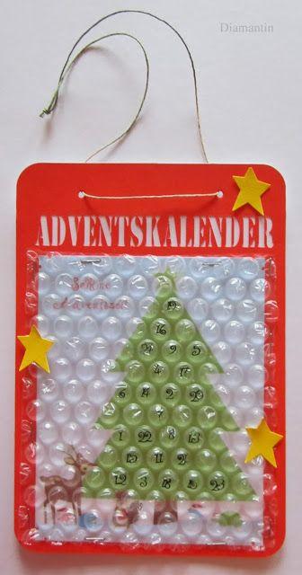 Adventskalender luftpolsterfolie geschenke for Lustige geburtstagsgeschenke selber machen