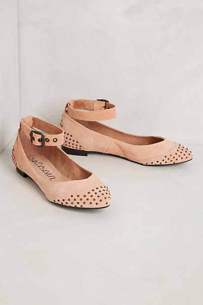 Danseuse Flats #Anthropologie