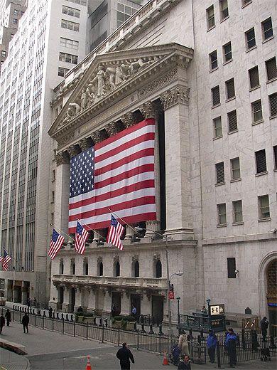 Wall Street, New York City, New York