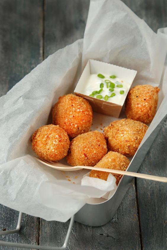 On dine chez Nanou: Cromesquis de patate douce à la tomme de Savoie