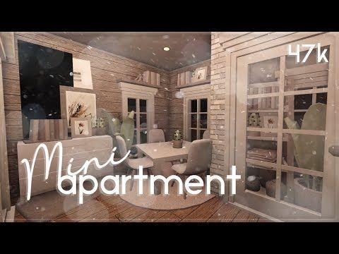 Roblox Bloxburg Mini Apartment House Build Youtube In