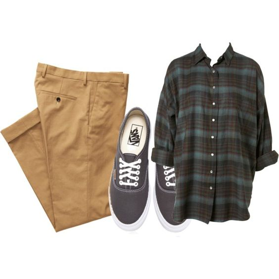 Untitled #420 by joananazar on Polyvore featuring polyvore fashion style Gant Rugger Vans