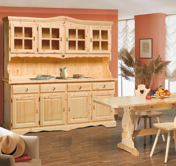Cristalliera cuore, rustica e romantica arredo ideale per casa in montagna o taverna. www.arredamentirustici.it