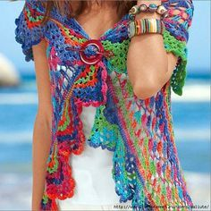 FREE Crochet Pattern Diagrama ❥Teresa Restegui http://www.pinterest.com/teretegui/❥