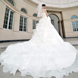 very long wedding dresses - Google Search