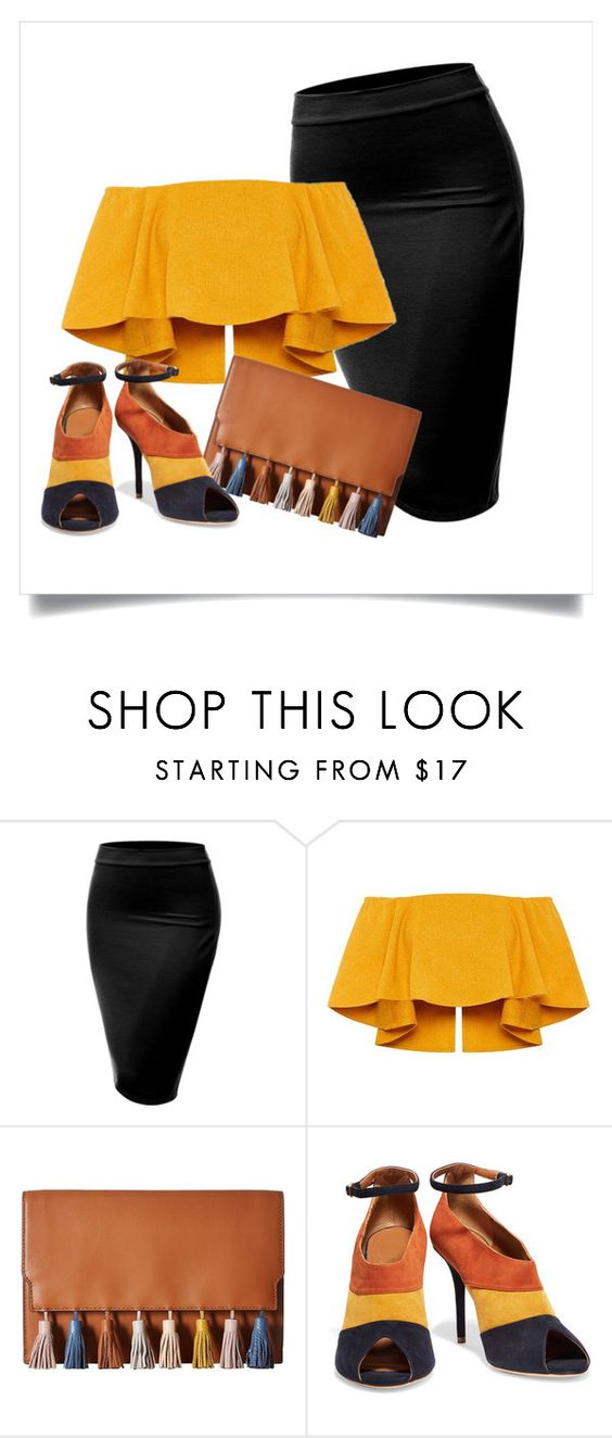 """Autumn cheques"" by mman-al-saqqaf ❤ liked on Polyvore featuring J.TOMSON, Rebecca Minkoff and Malone Souliers"