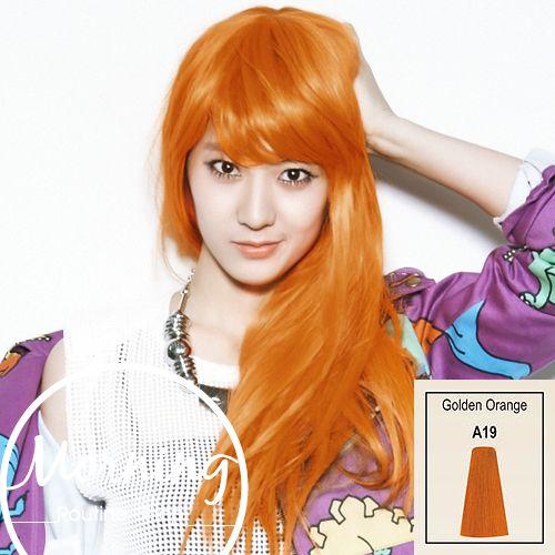 nur 3,97 Euro A19 Feuer Leuchtend Orange Permanente Haarfärbung Haare FärbenTop Qualität kleiner Preis
