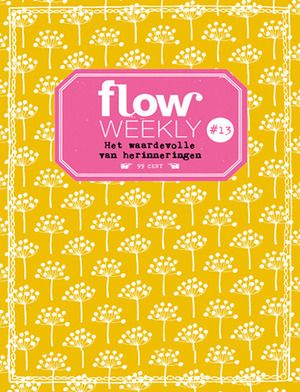 Flow Weekly 13-2015: The value of memories. Pattern by Lotta Jansdotter. Each Flow Weekly includes a planner and to-do lists for you to fill in for the week ahead, as well as blank pages for thoughts, ideas, notes, dreams, wishes and plans. This week's edition also features: insights into how precious and powerful memories are, eggs drawn by Geertje Aalders, the second piece of Yelena Bryksenkova's poster-in-a-series, tips on how to remember things, the Flow Market, and much more.