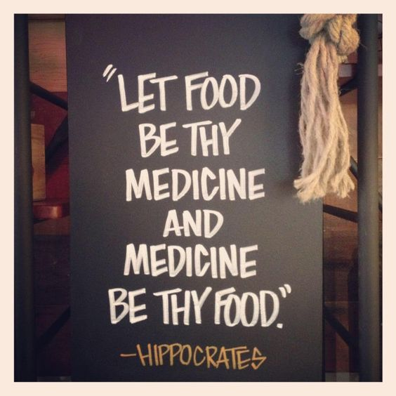 Hippocrates Quotes: Let Food Be Thy Medicine And Medicine Be Thy Food