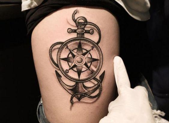 Tatuajes De Anclas 237 Fotos Significado Hombre Mujer