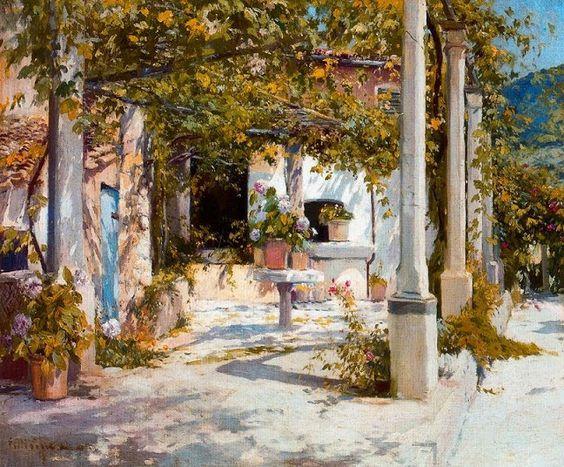 El Blog de La Tabla: Eliseu Meifrèn. Patios y jardines