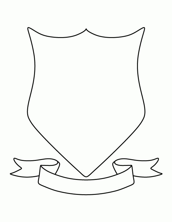 Transparent Templates Shield Transparent Png Clipart Free Within Blank Shield Template Printable Coat Of Arms Family Crest Template Shield Template