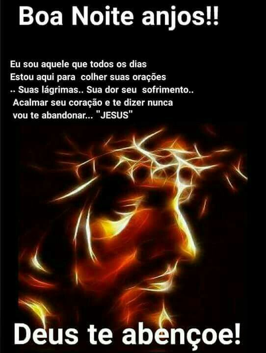 Boa Noite Abencoada Noite Lindos Sonhos Jesus Te Abencoe