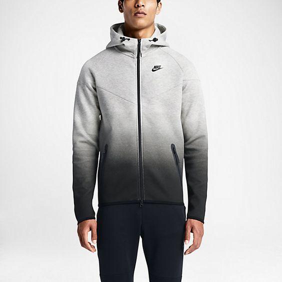 nike jordan retro 1 - Nike Tech Fleece Fade Windrunner Men's Hoodie   { Workout Wear ...