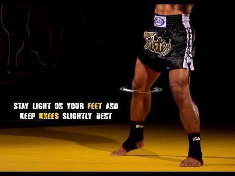 Muay Thai Basic Stance And Movement Instructional Youtube Muay Thai Muay Thai Kicks Boxing Techniques