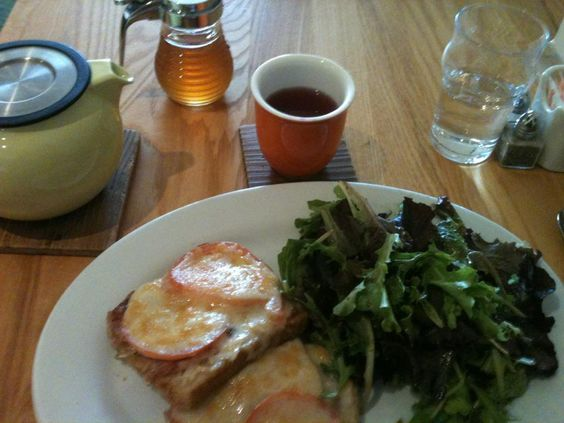Delicious food and tea from The Steeping Room in Austin!  <3