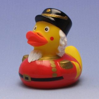 Duckshop - der Shop für Badeente und Quietscheentchen - Quietscheentchen Nussknacker