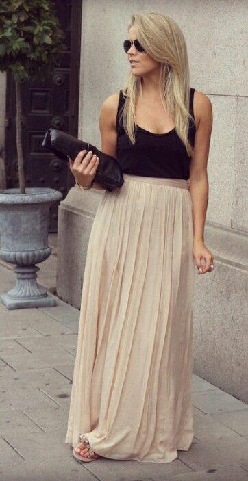 Nude skirt  PS I LOVE FASHION
