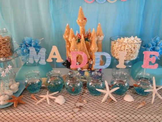 Under the Sea/ Mermaid Party Birthday Party Ideas | Photo 31 of 34 | Catch My Party