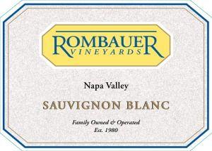 Sauvignon Blanc review - 2015 Rombauer Vineyards Sauvignon Blanc Napa Valley. It's a good one! #SauvBlanc #Wine #Review