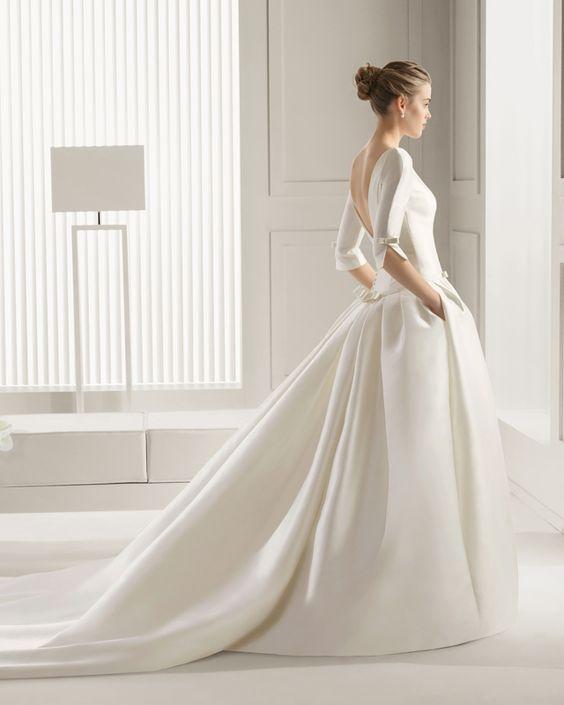 Robe de mariée dos nu style princesse - Robe: Rosa Clara Printemps Mariage, modèle Saigon, collection 2015 - La Fiancée du Panda blog Mariage et Lifestyle
