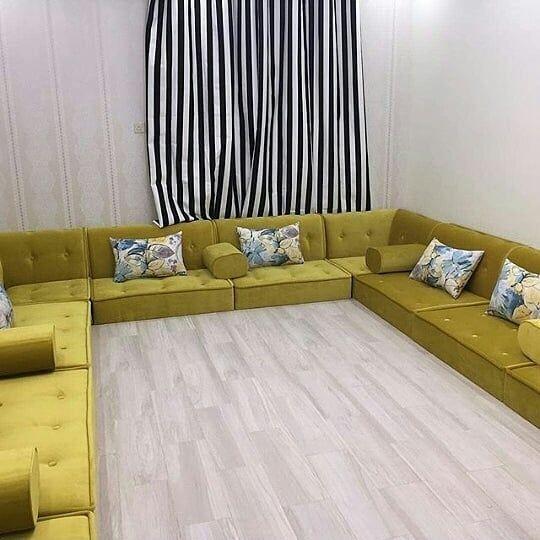 كنب جلسات ستائر جديد وتنجيد تفصيل بحسب الطلب واسعار مناسبه للجميع تأثيث فندقي مكتبي منزلي الدمام الخبر لل Furniture Outdoor Sectional Sofa Home Decor