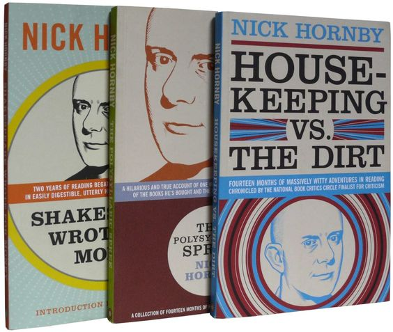 Yes, I would very much like to have this bundle of books featuring Nick Hornby's 'Stuff I've Been Reading' columns from the Believer.....
