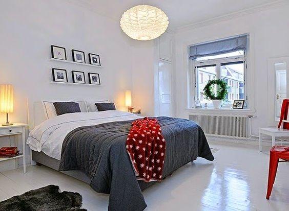 20 Lindos Diseños de Dormitorios Escandinavos   DECORAR, DISEÑAR Y EMBELLECER TU HOGAR