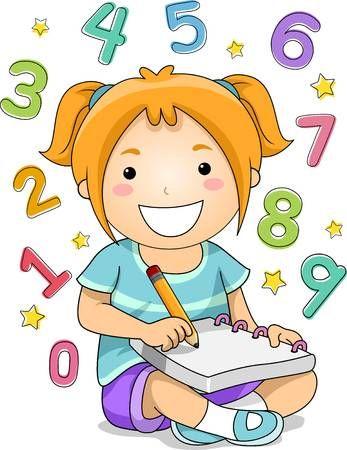 Aide, devoirs. Sien, elle, illustration, fils, portion, mère, caucasien,  devoirs.