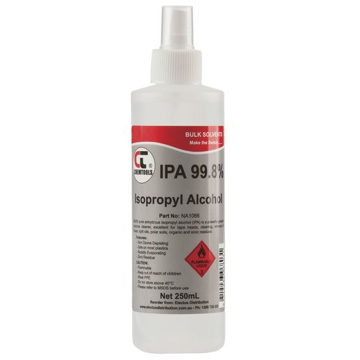 Isopropyl Alcohol 99 8 Spray 250ml Alcohol Personal Care Beauty