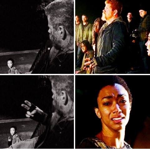 Sargent Abraham Ford ✌ #rip #TWD  I DIDNT EVEN SEE THIS CRYING AGAIN )':