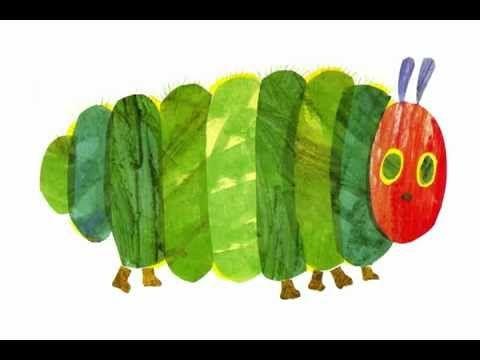 Lecturas con mis hijos: The very Hungry caterpilar - La pequeña oruga glotona