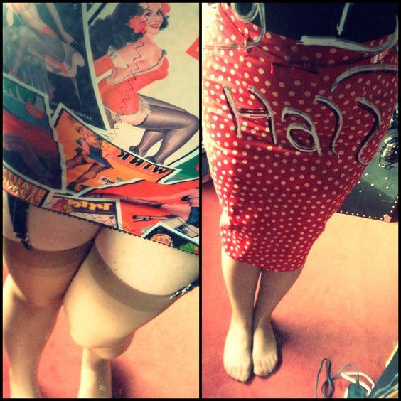 Stockings and Romance girdle