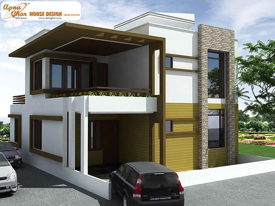 4 bedrooms duplex house design in 150m2 10m x 15m like for Maison duplex moderne
