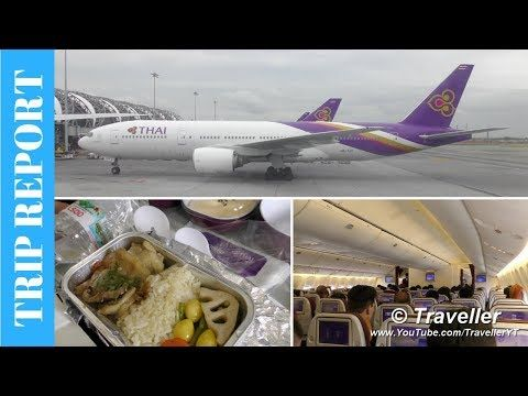 Trip Report Thai Airways 777 300 Economy To Kuala Lumpur With Halal Inflight Meals Muslim Meal Tripreport Trip Report T Trip Flight Review Thai Airways