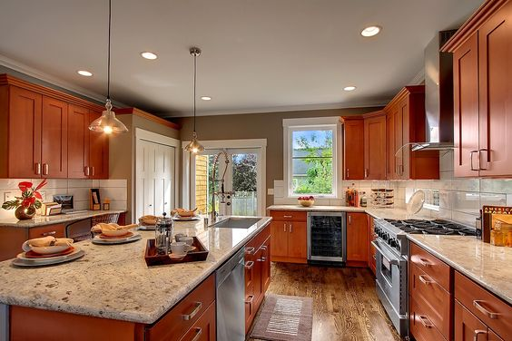 Cherries cabinets and cherry kitchen cabinets on pinterest