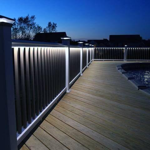 Top 60 Best Deck Lighting Ideas Outdoor Illumination Dizajn Terrasy Naruzhnoe Osveshenie Osveshenie Patio