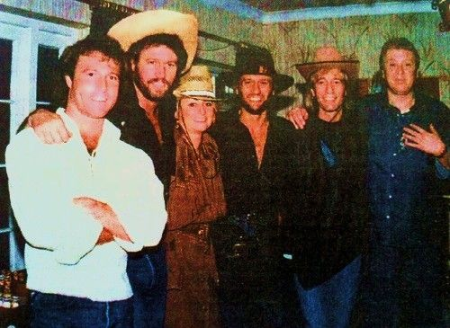 The Gibb Brothers, Linda and....