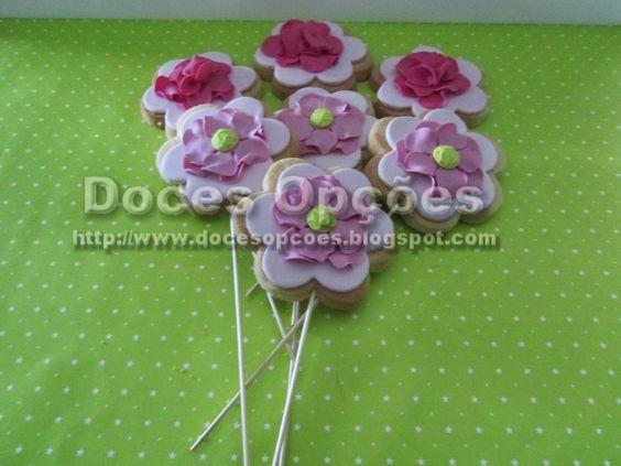 Doces Opções: Bouquet de bolachas para os padrinhos