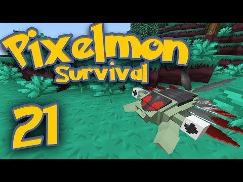 Pixelmon Survival [Part 21] - Googly Eyes!