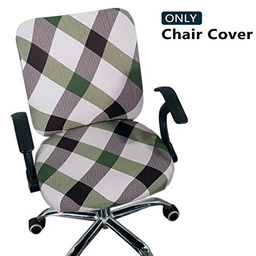 Melaluxe Computer Office Chair Covers Protective Stretchable