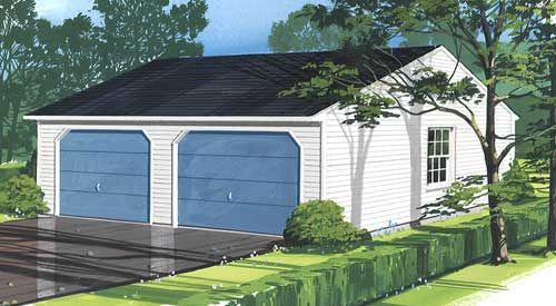 Garages from LaValley-Middleton Building Supply