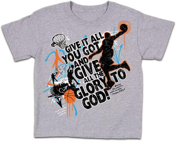 Basketball T-Shirt Design Ideas | Glory Basketball T-Shirt