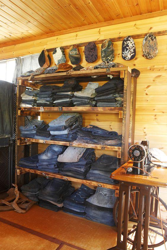 My jeans shop in Japan