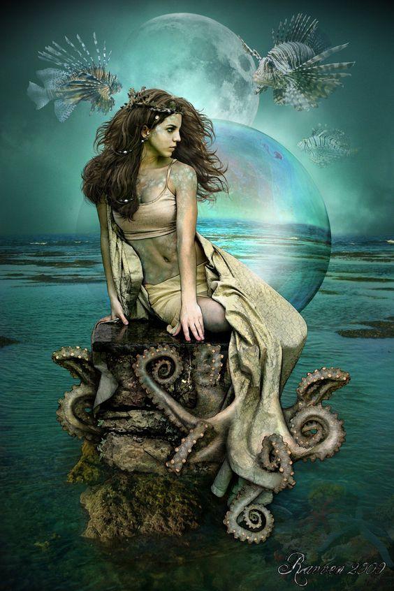 Sea Fae by Ravven78: