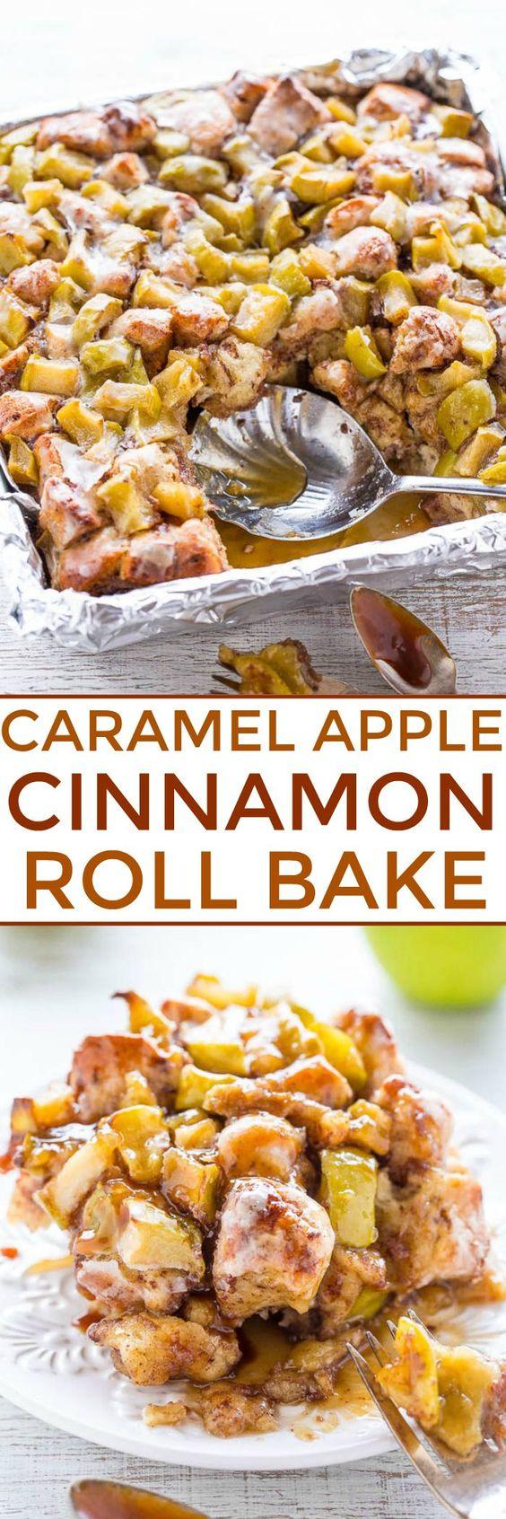 Caramel, Apple, And Cinnamon Breakfast Casserole Recipe — Dishmaps