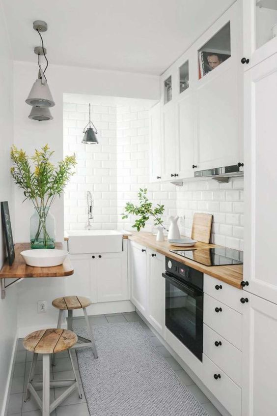 10 of the Smartest Small Kitchens We've Ever Seen — Small Space Kitchens #smallkitchendesign