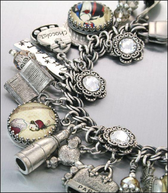 Jewelry Accessories Key Chain Bracelets Crafting Bracelet Necklace Pendants Eiffel Tower Charm Sterling Silver for Bracelet Vacation Paris France Tourist